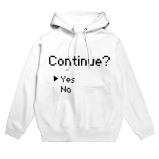 continue ~Yes~ Hoodies