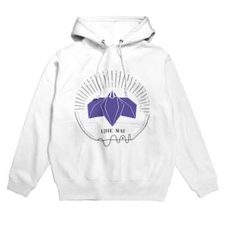 UjiMai logo Hoodies