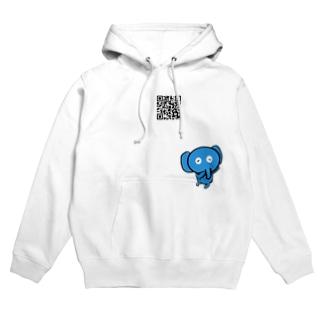 青い象の日常 Hoodies