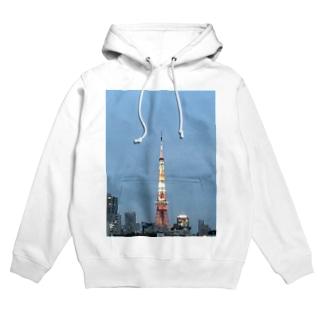 東京タワー Hoodies