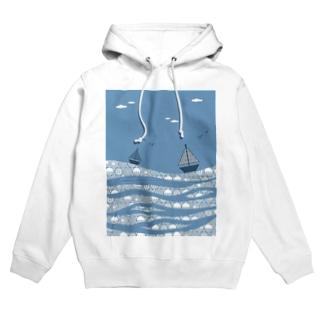 海 Hoodies
