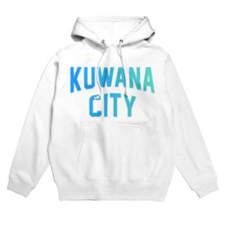 桑名市 KUWANA CITY Hoodies