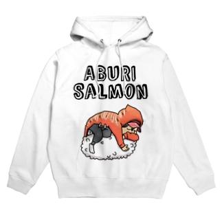 ABURI-SALMON少年 Hoodies