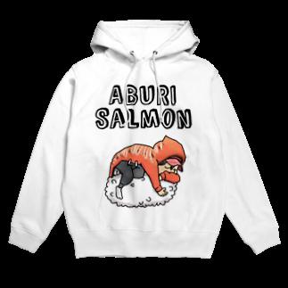 かねじのABURI-SALMON少年 Hoodies