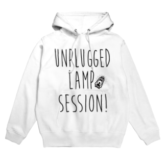 Unplugged Lamp Session type logo Hoodies
