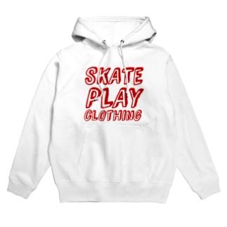 SKATE PLAY R Hoodies