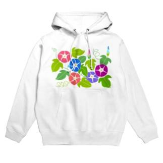 アサガオの花 Hoodies