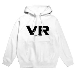 VR ESCAPISM -現実逃避- Hoodies