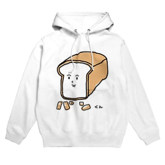 パンくんグッズ(bread man goods) Hoodies