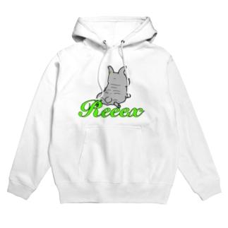 ReeexのDog 02 Hoodies