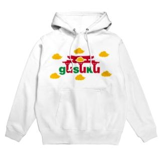 gusuku(筋斗雲量産型) Hoodies