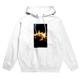In to flame Hoodies
