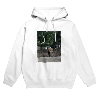奈良公園の鹿さん Hoodies