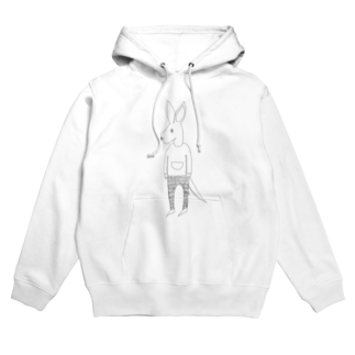 Tommy_is_mozukuのMy  friends kangaroo Hoodies