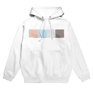 朝焼けの冬(RGB表示付) Hoodies
