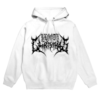 ODY CHRISTMAS LOGO(WHITE) Hoodies