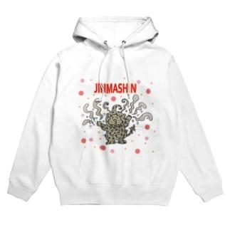 ayukorotaro5のJINMASHIN Hoodies