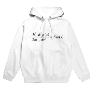 FCLBRの1次元の時間を含まないシュレディンガー方程式 Hoodies