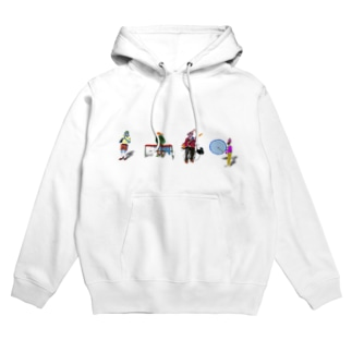 The A Band Hoodies