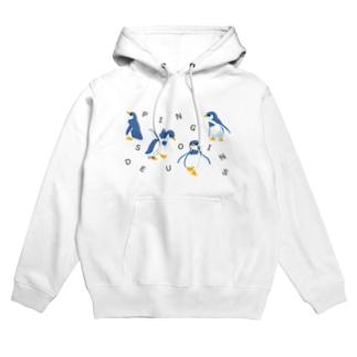 Des Pingouins~ペンギン達~ Hoodies