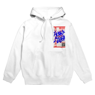 Work it like a I talk itのあおとあか Hoodies