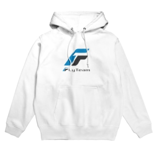 FlyTeam(ロゴ小) Hoodies