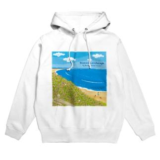 湘南ランドスケープ08:海辺のハマダイコン Hoodies
