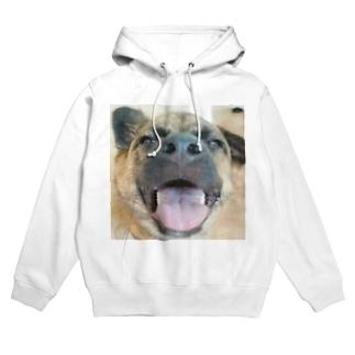 スッポン犬 Hoodies
