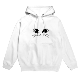 にゃんこふぇいす /猫 Hoodies