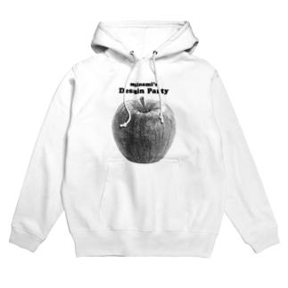南のデッサン「リンゴ」 Hoodies