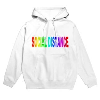 Social distance Hoodies