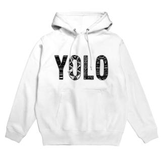 YOLO Hoodies