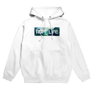 Ruff Life オリジナルフォト Hoodies
