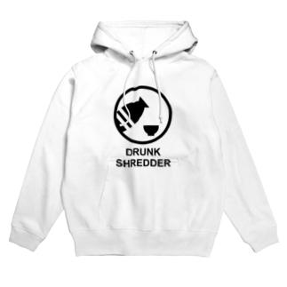 DRUNK SHREDDER Hoodies