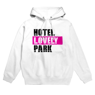 HOTEL LOVELY PARK ロゴ Hoodies