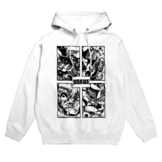 【ROCKOLOID SAULUS】4-piece band edition Hoodies