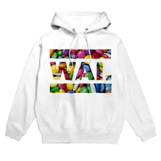 WAIパーカー(マーブルチ◯コ) Hoodies