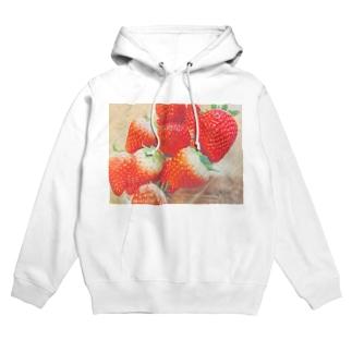 strawberry Hoodies
