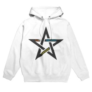Toke all stars Hoodies