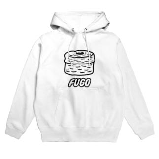 FUGO(黒線) Hoodies