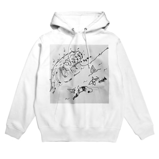 BIG WAVE Hoodies