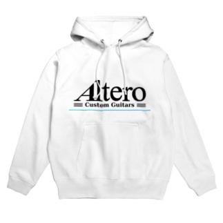 Altero Custom Guitars02(淡色向け) Hoodies
