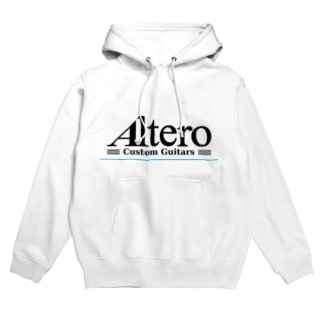 Altero Custom Guitars02(淡色向け) Hoodies