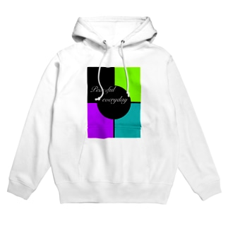Peaceful everyday  Hoodies