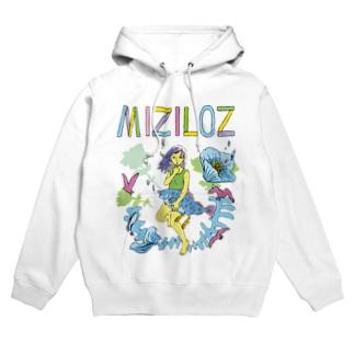 MIZILOZ《ミズイロズ》 Hoodies