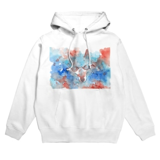 May wolf with glasses Hoodies