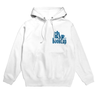 BookCupロゴ3 Hoodies