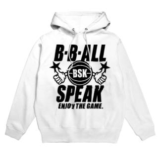 B.B.ALL SPEAK Hoodies