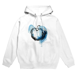 Blue apple Hoodies