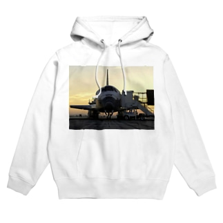 Discovery_mission_completed_スペースシャトル Hoodies